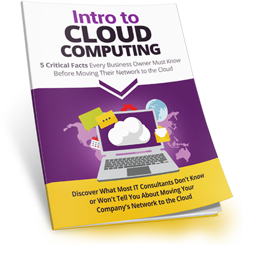Image of free report on Introduction to Cloud Computing for small business owners that could generate massive savings to their business.