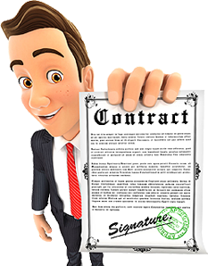 Image of IT contract that is a short-term agreement